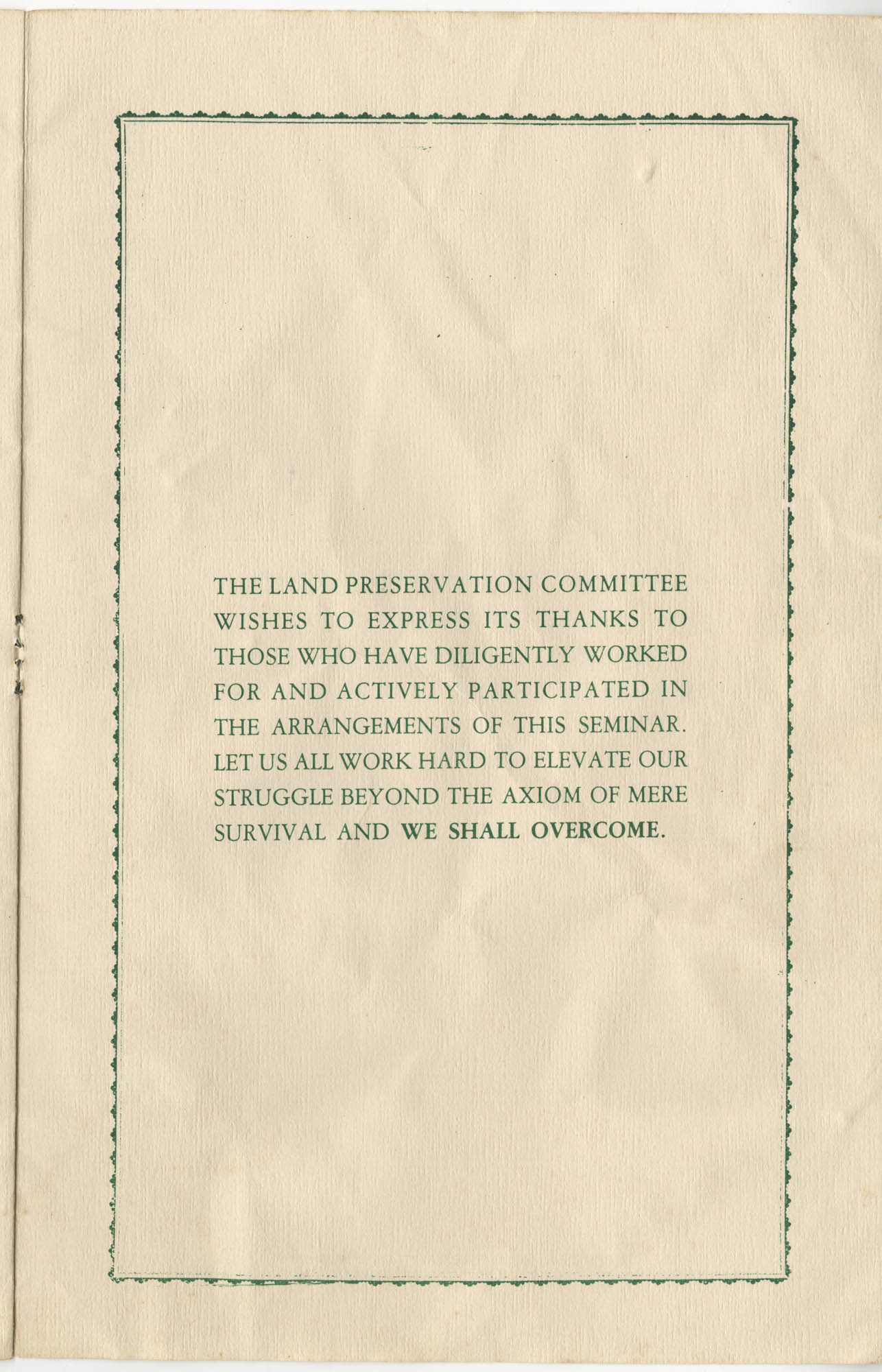 The Second Annual Land Preservation Seminar, Page 6