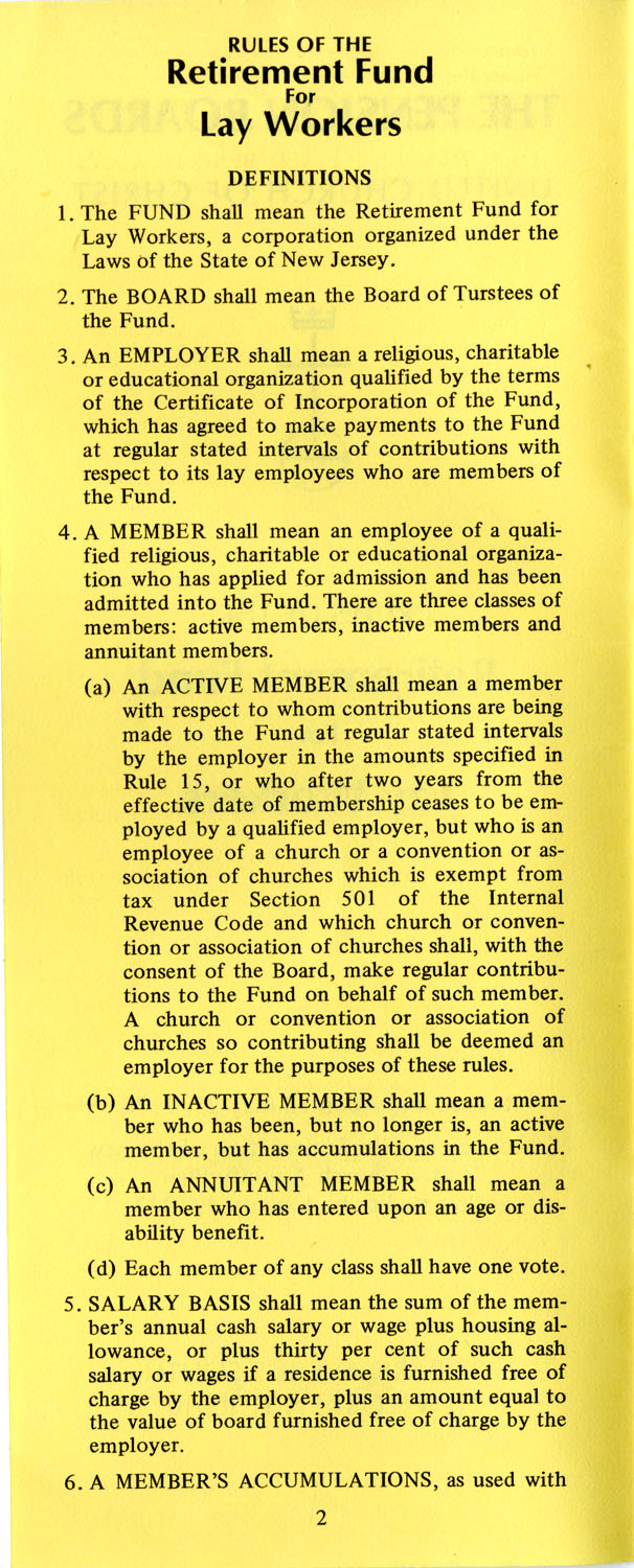 The Pension Boards. United Church of Christ, Page 2