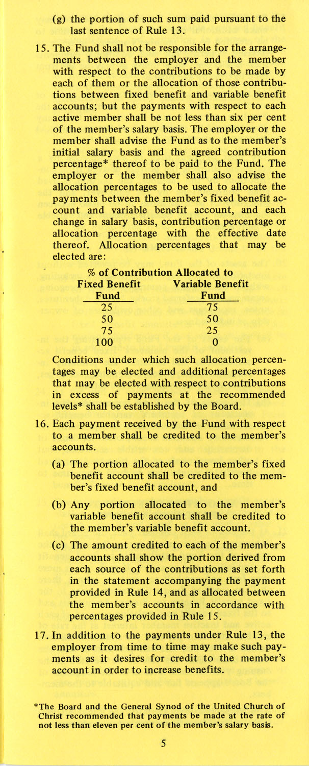 The Pension Boards. United Church of Christ, Page 5