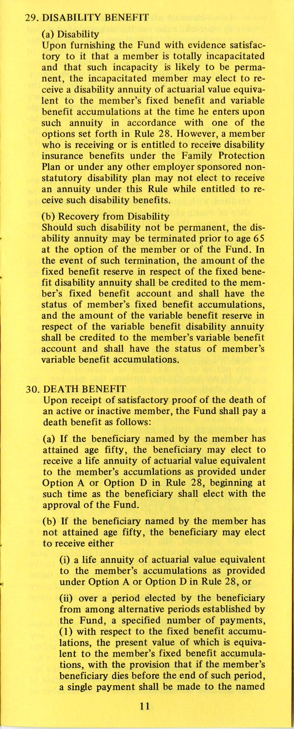 The Pension Boards. United Church of Christ, Page 11
