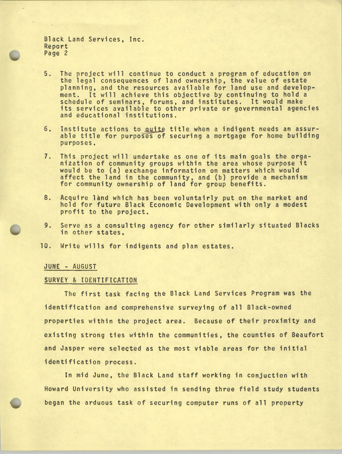 Annual Reports, Penn Community Services, 1973, Page 7