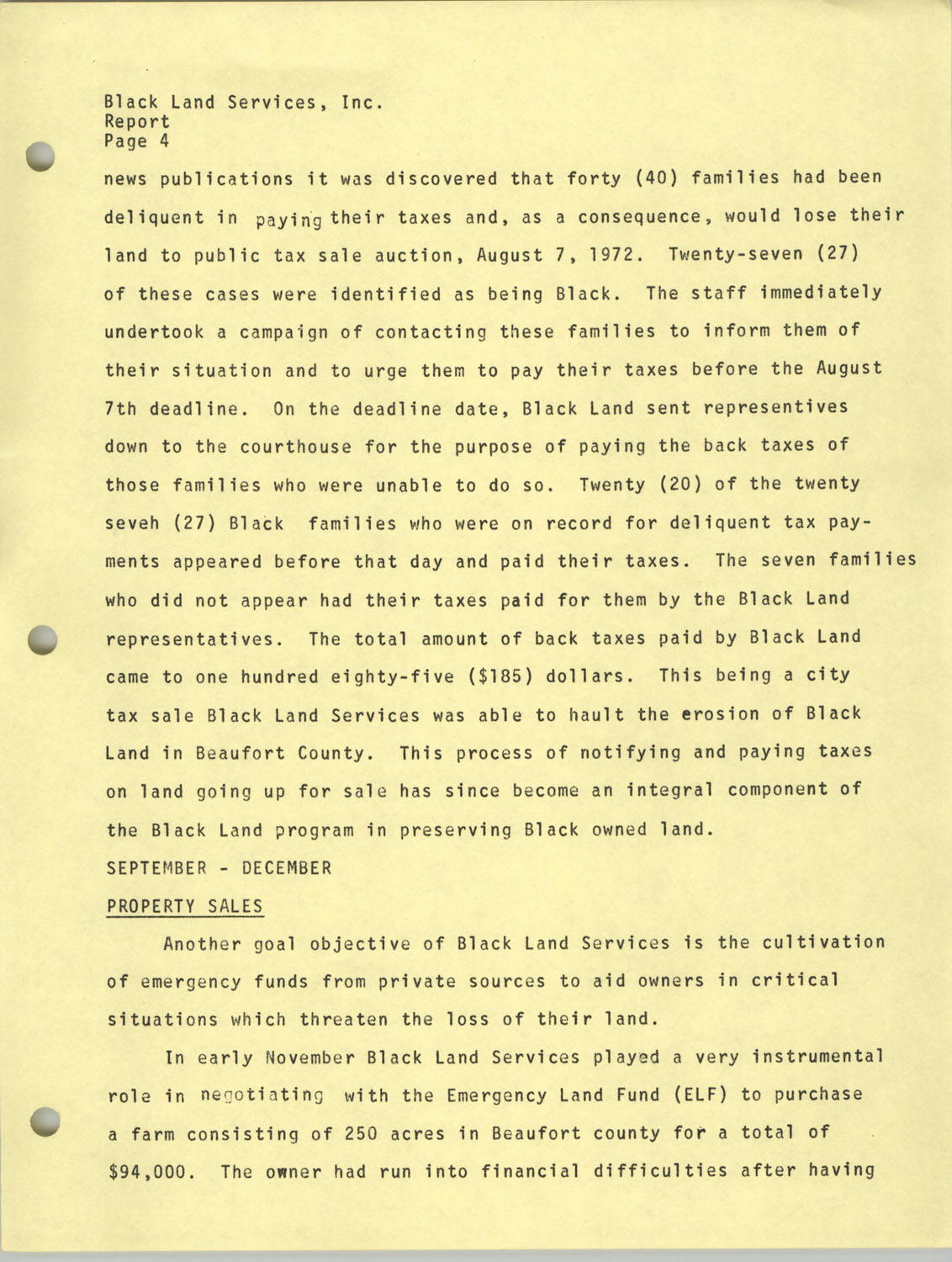 Annual Reports, Penn Community Services, 1973, Page 9