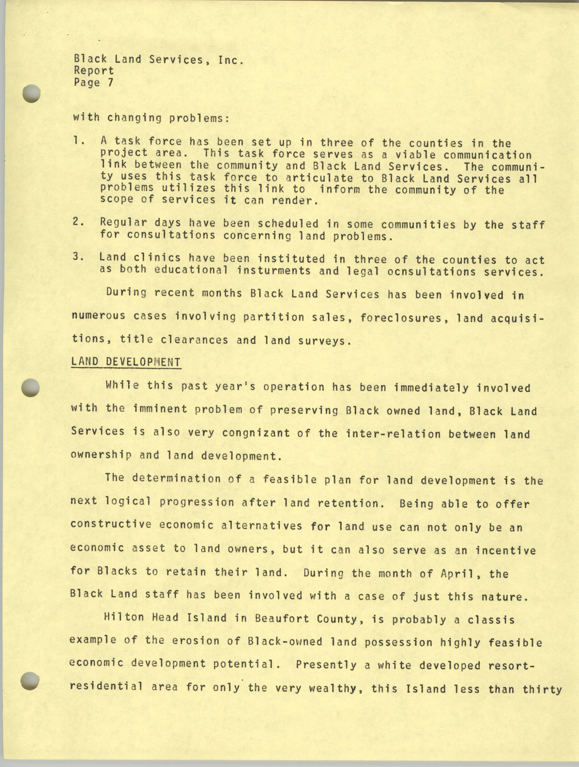 Annual Reports, Penn Community Services, 1973, Page 12