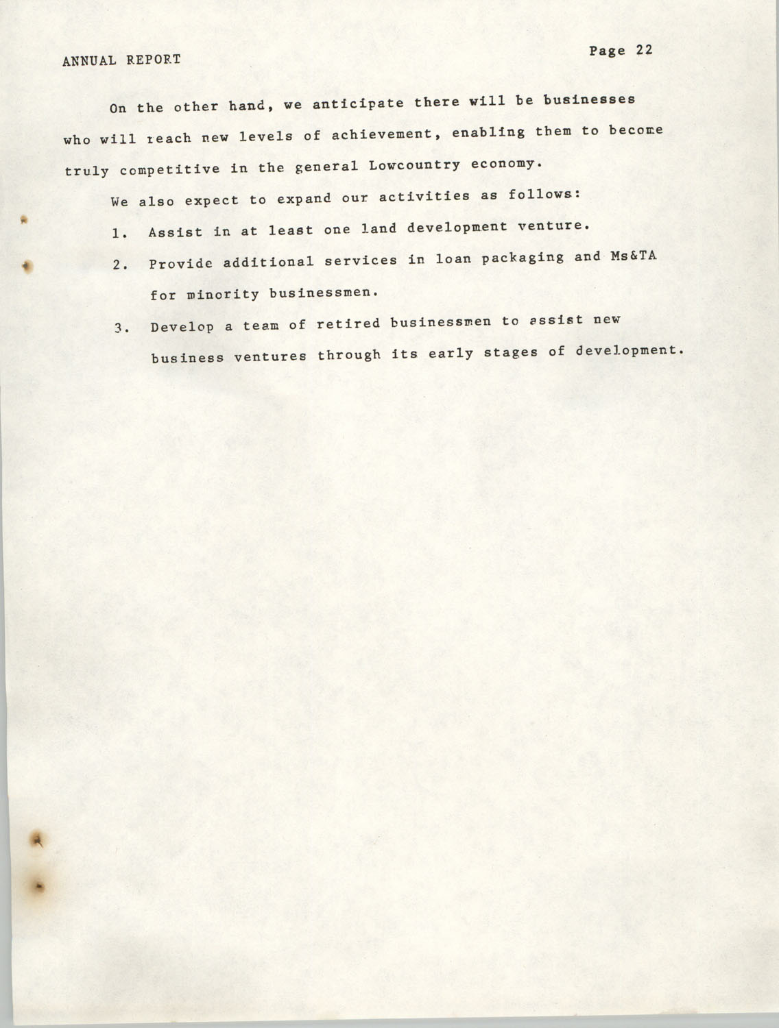Annual Report, Penn Community Services, 1974, Page 22