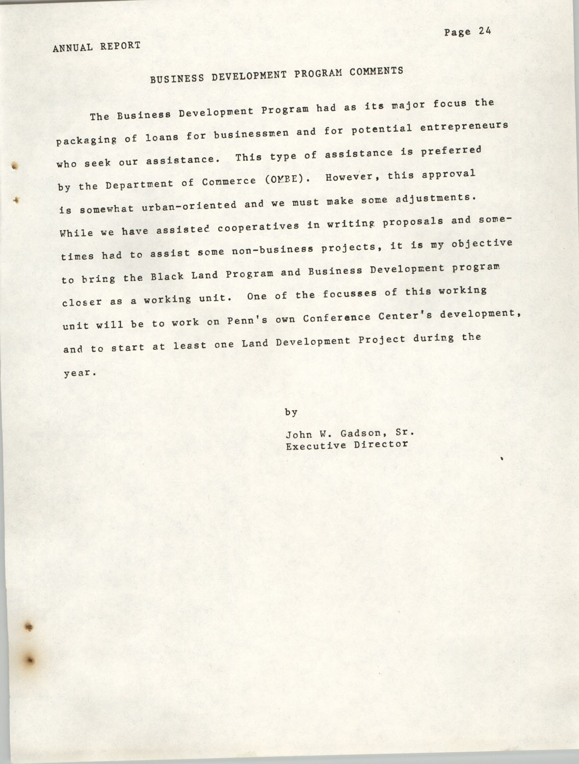 Annual Report, Penn Community Services, 1974, Page 24