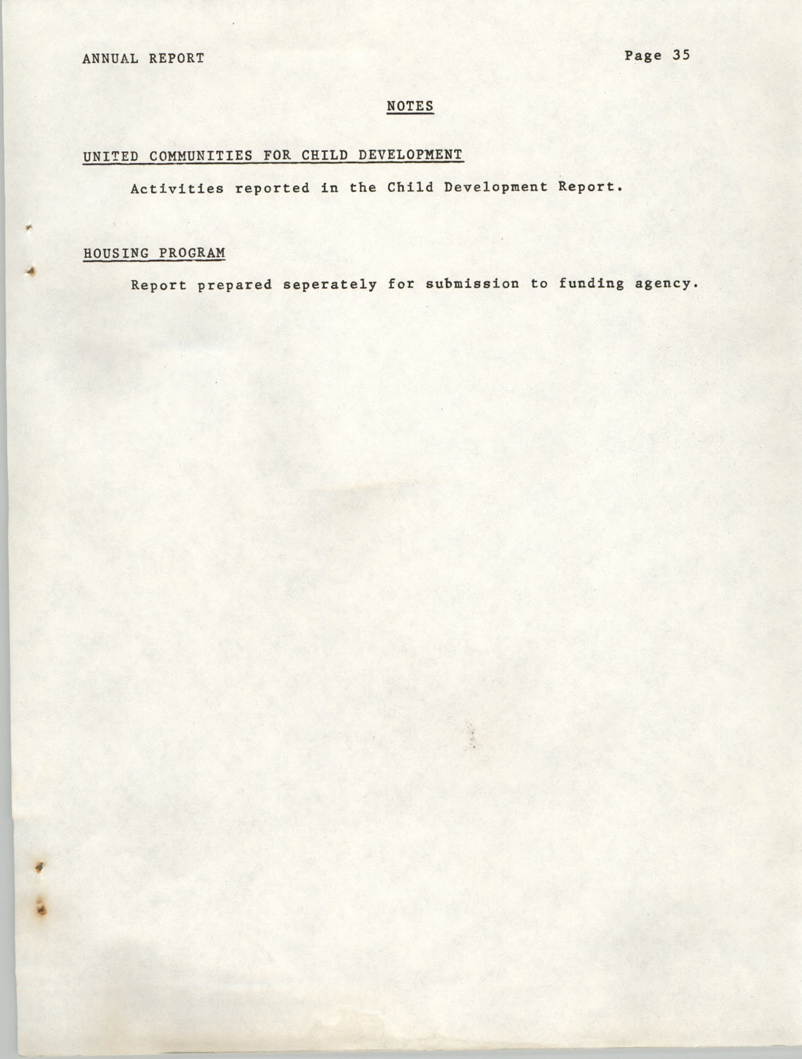 Annual Report, Penn Community Services, 1974, Page 35