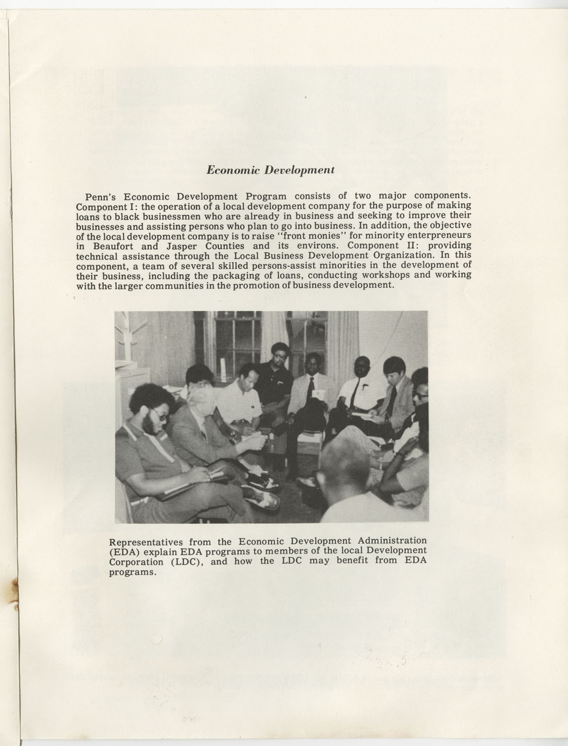 Penn Community Services, Inc., October 1972, Page 12