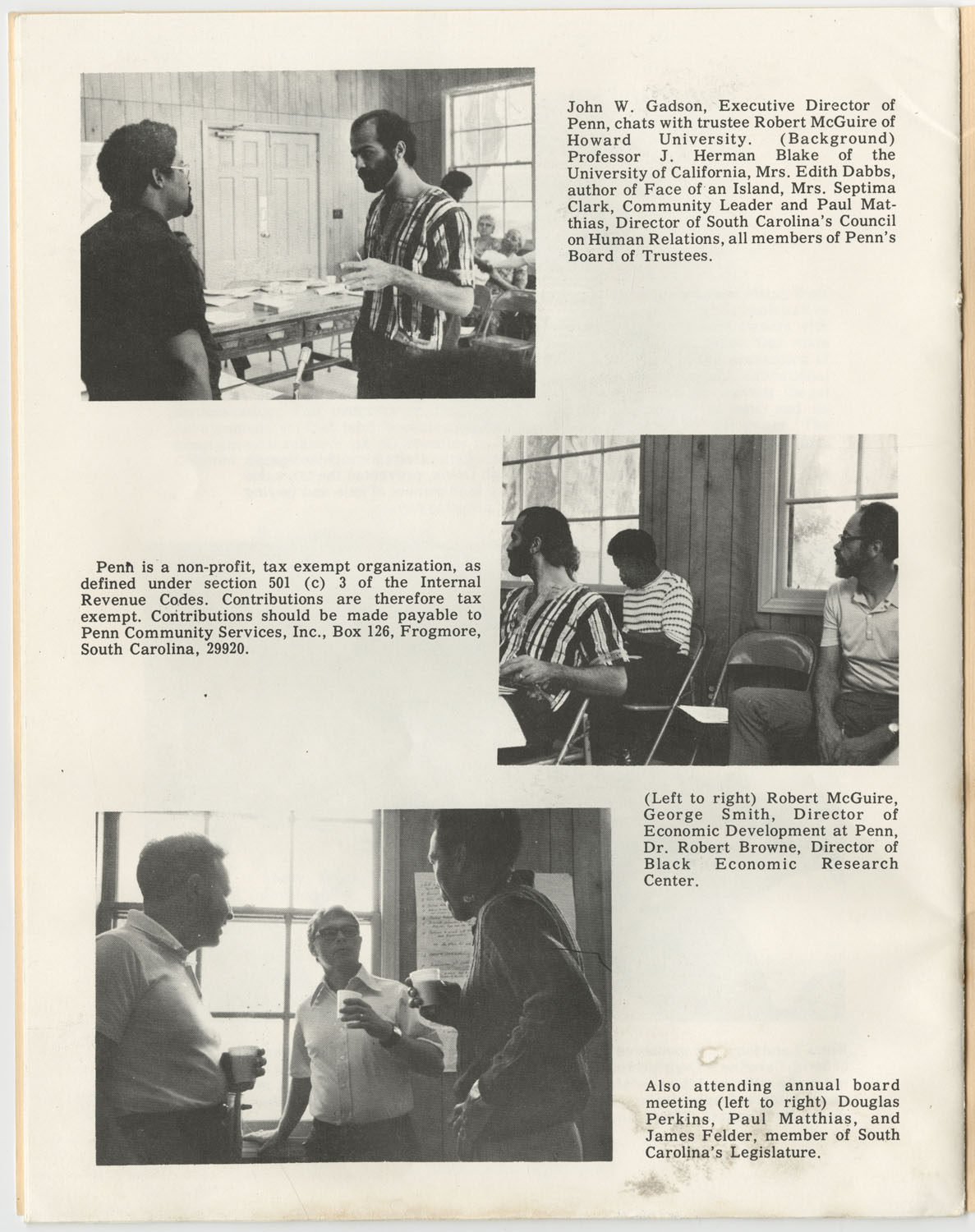 Penn Community Services, Inc., October 1972, Page 17