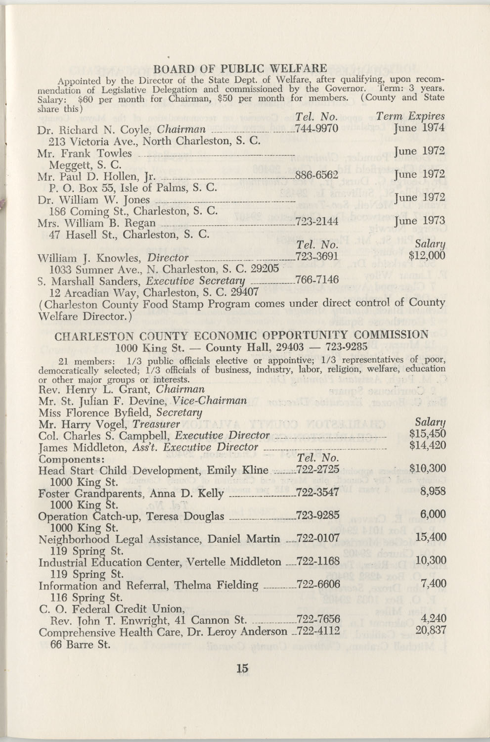 Directory of Public Officials, 1972-1973, Page 15