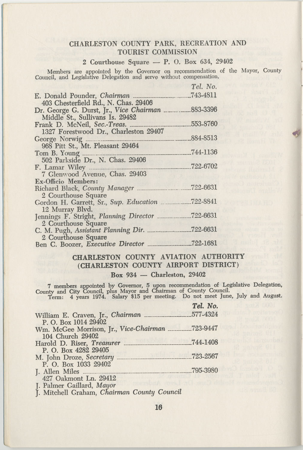 Directory of Public Officials, 1972-1973, Page 16