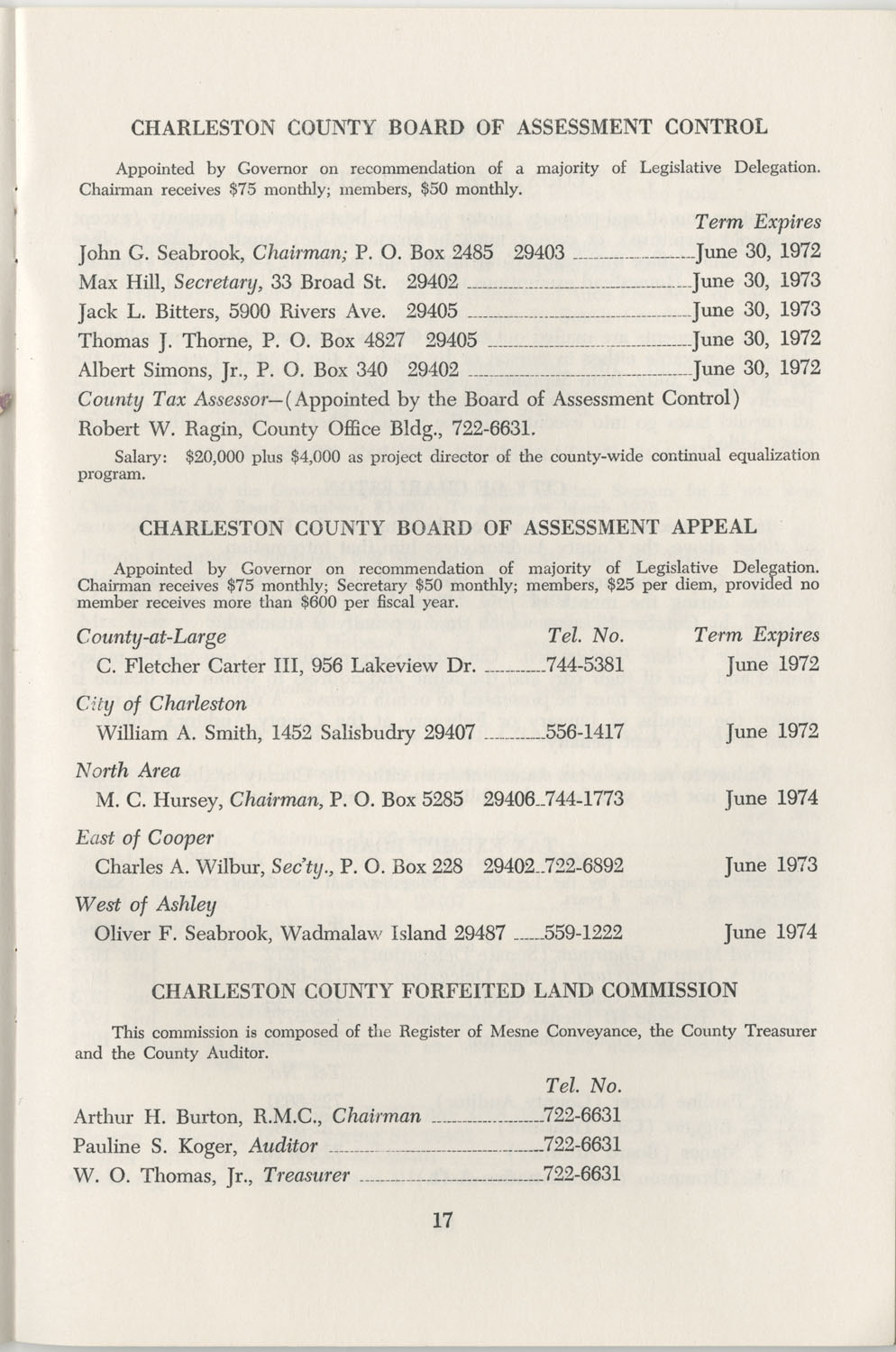 Directory of Public Officials, 1972-1973, Page 17