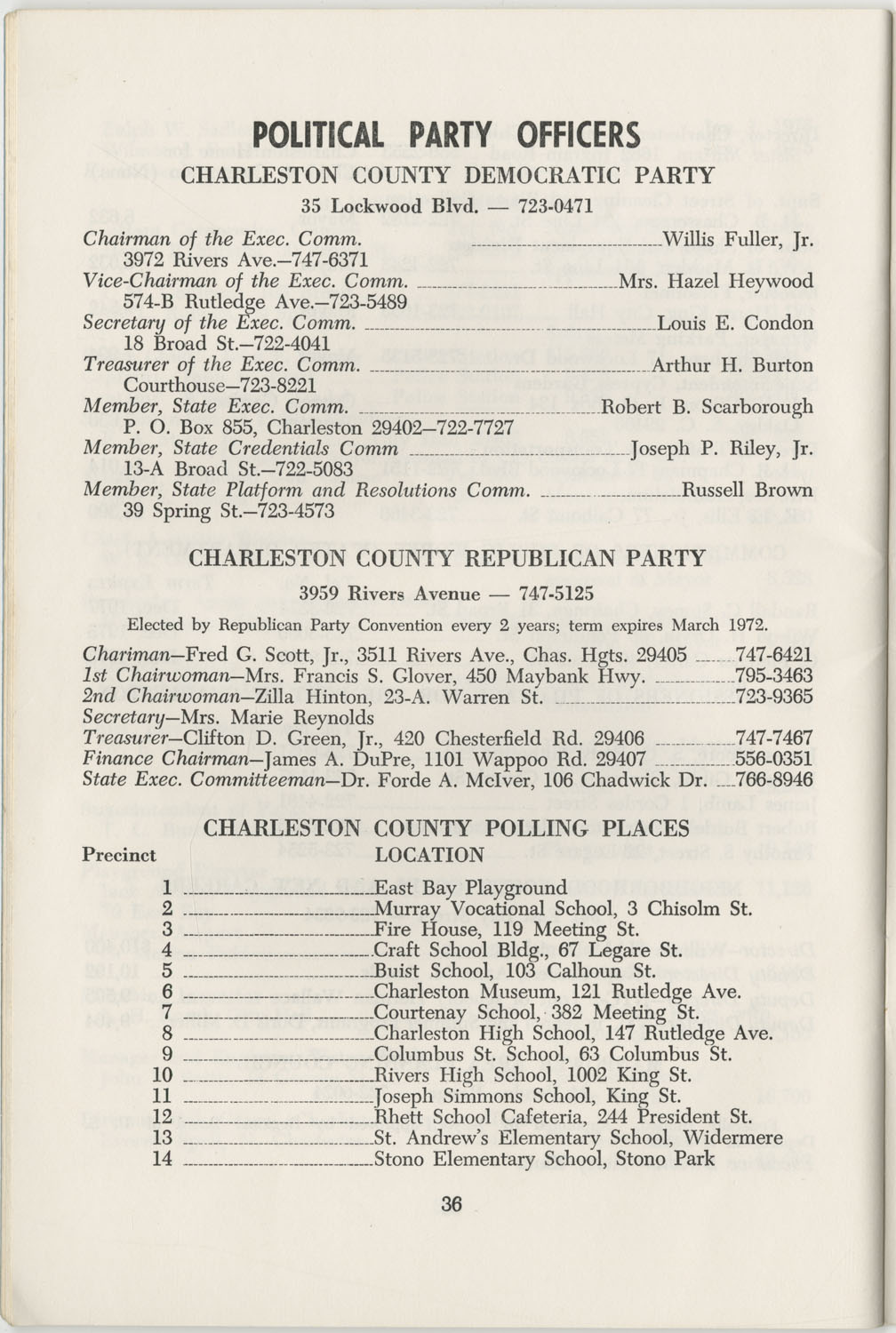Directory of Public Officials, 1972-1973, Page 36