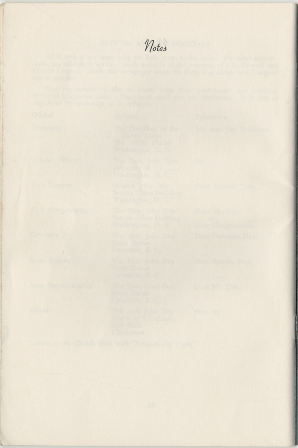 Directory of Public Officials, 1972-1973, Page 40