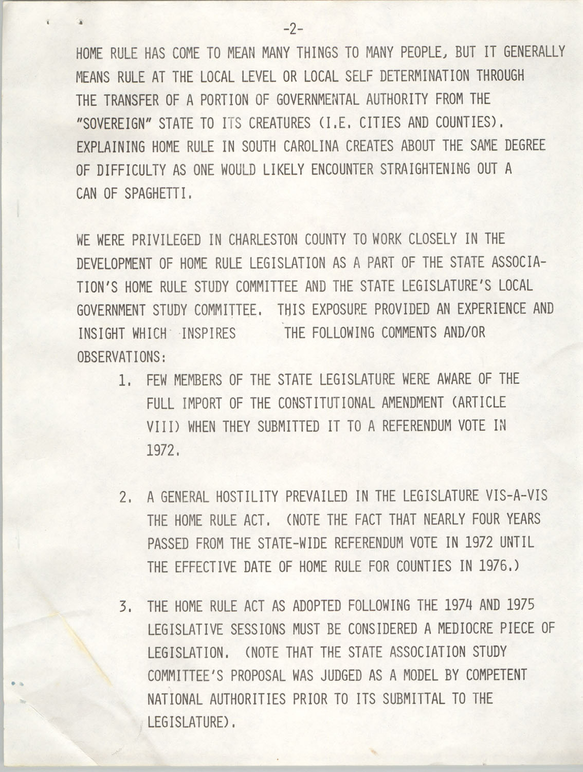 Home Rule In South Carolina, September 28, 1977, Page 2