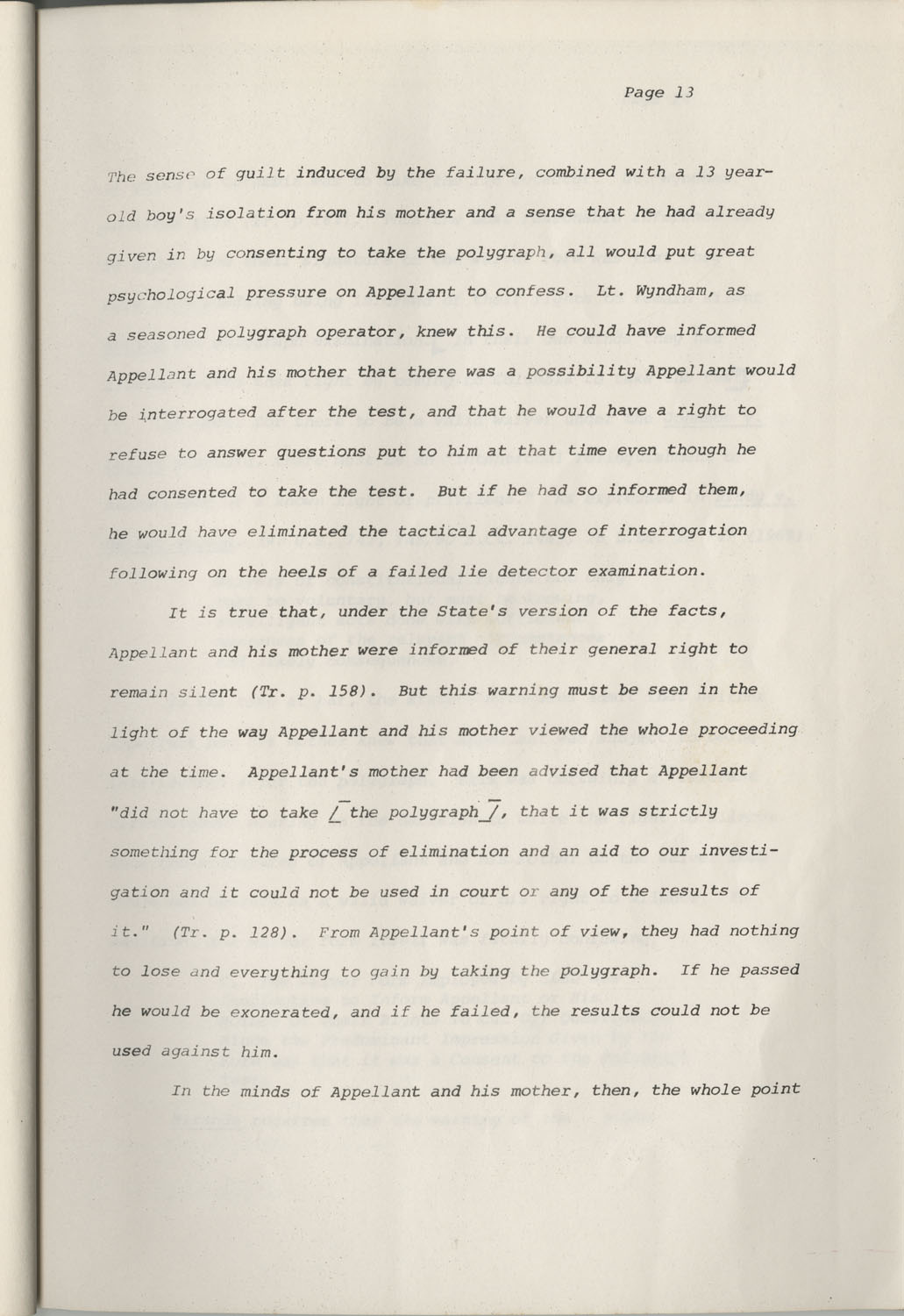 State of South Carolina vs. Robert Lee Smith, Brief of Appellant, Page 13