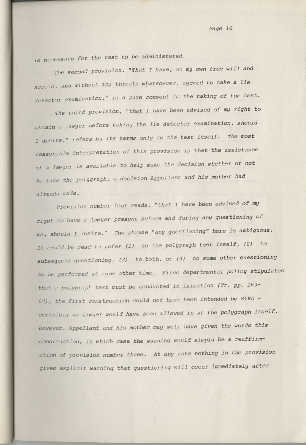 State of South Carolina vs. Robert Lee Smith, Brief of Appellant, Page 16