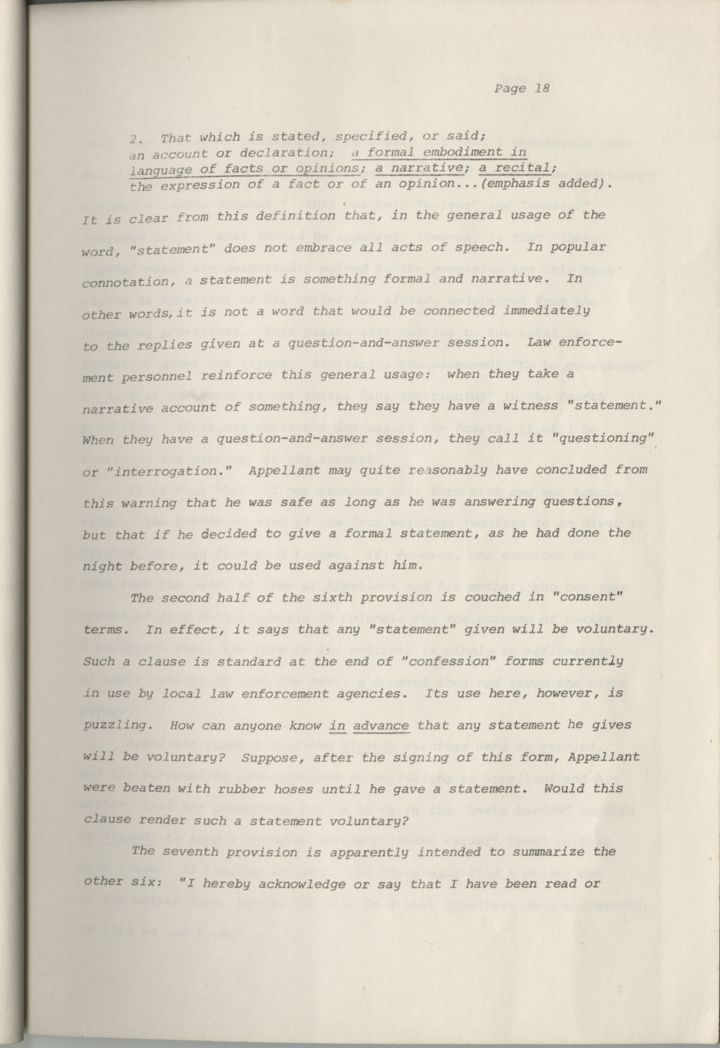 State of South Carolina vs. Robert Lee Smith, Brief of Appellant, Page 18