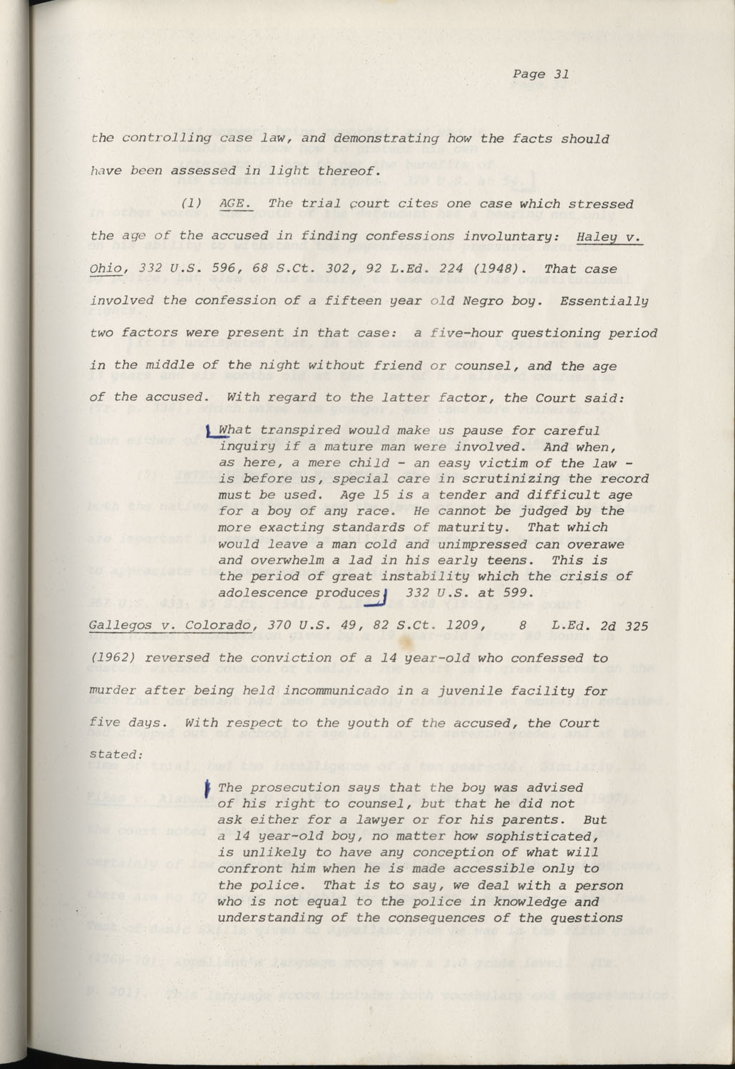 State of South Carolina vs. Robert Lee Smith, Brief of Appellant, Page 31