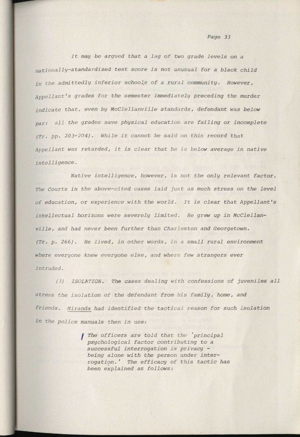 State of South Carolina vs. Robert Lee Smith, Brief of Appellant, Page 33
