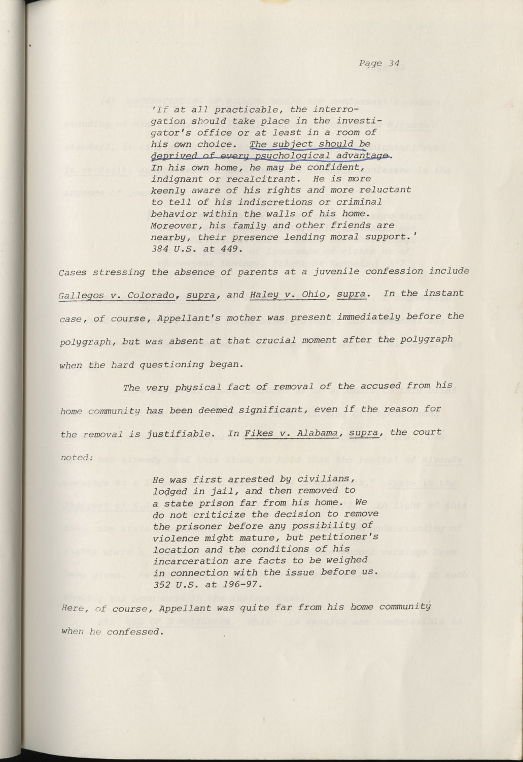 State of South Carolina vs. Robert Lee Smith, Brief of Appellant, Page 34