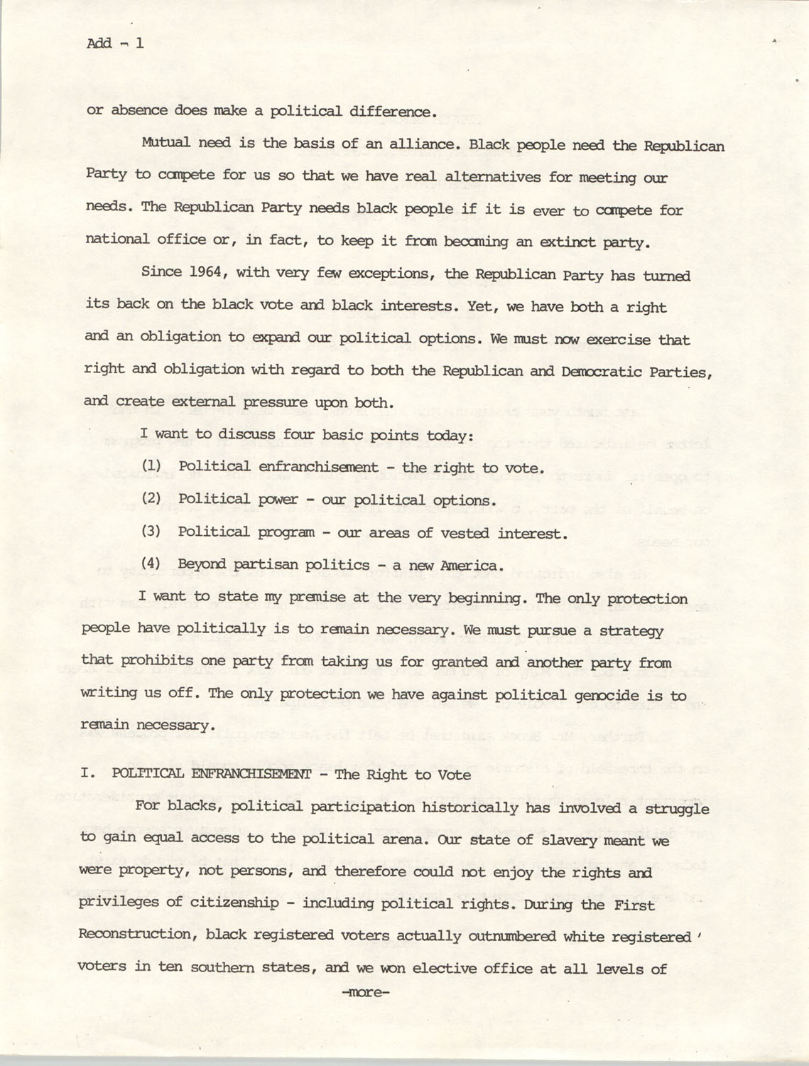 Speech Before the Republican National Committee, Page 1