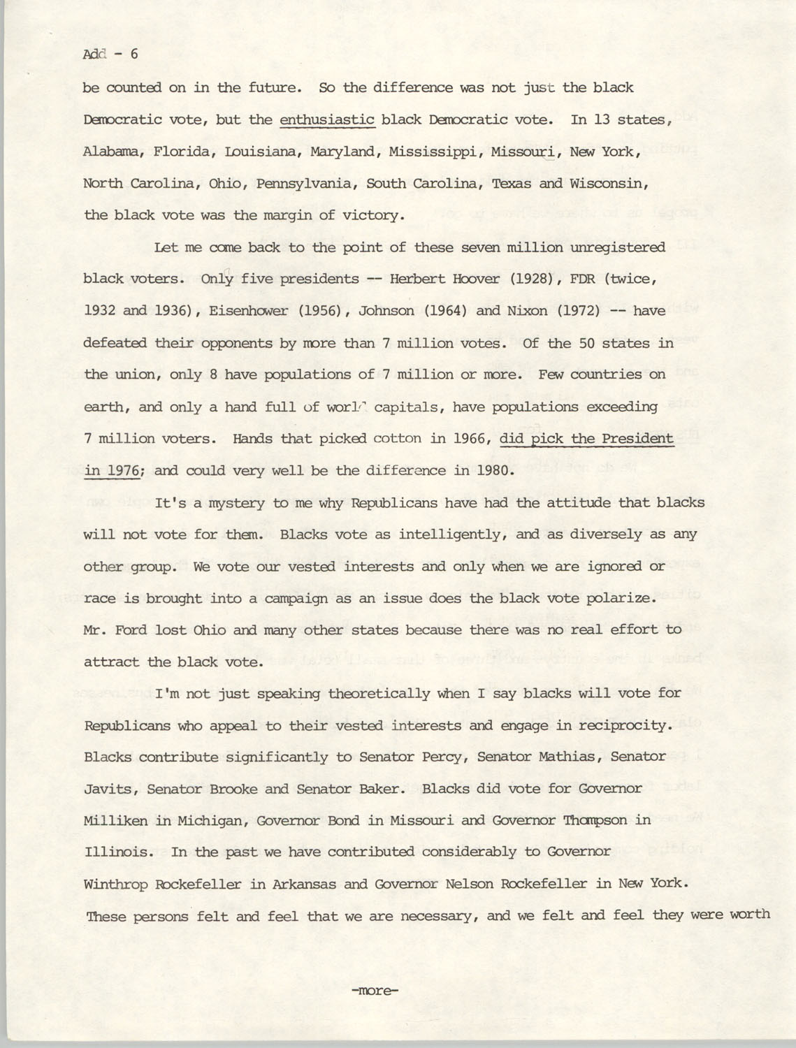Speech Before the Republican National Committee, Page 6