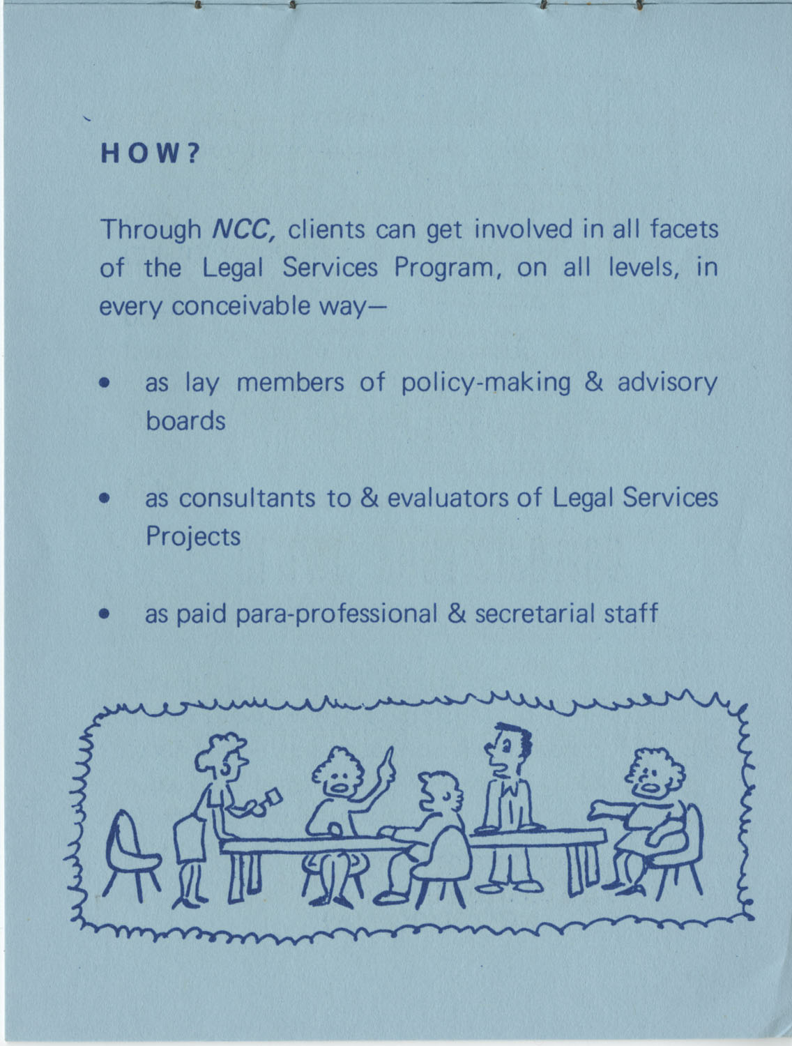 The Why's and How's of The National Clients Council, 1974, Page 3