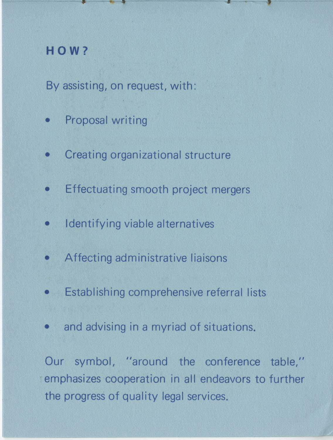 The Why's and How's of The National Clients Council, 1974, Page 4