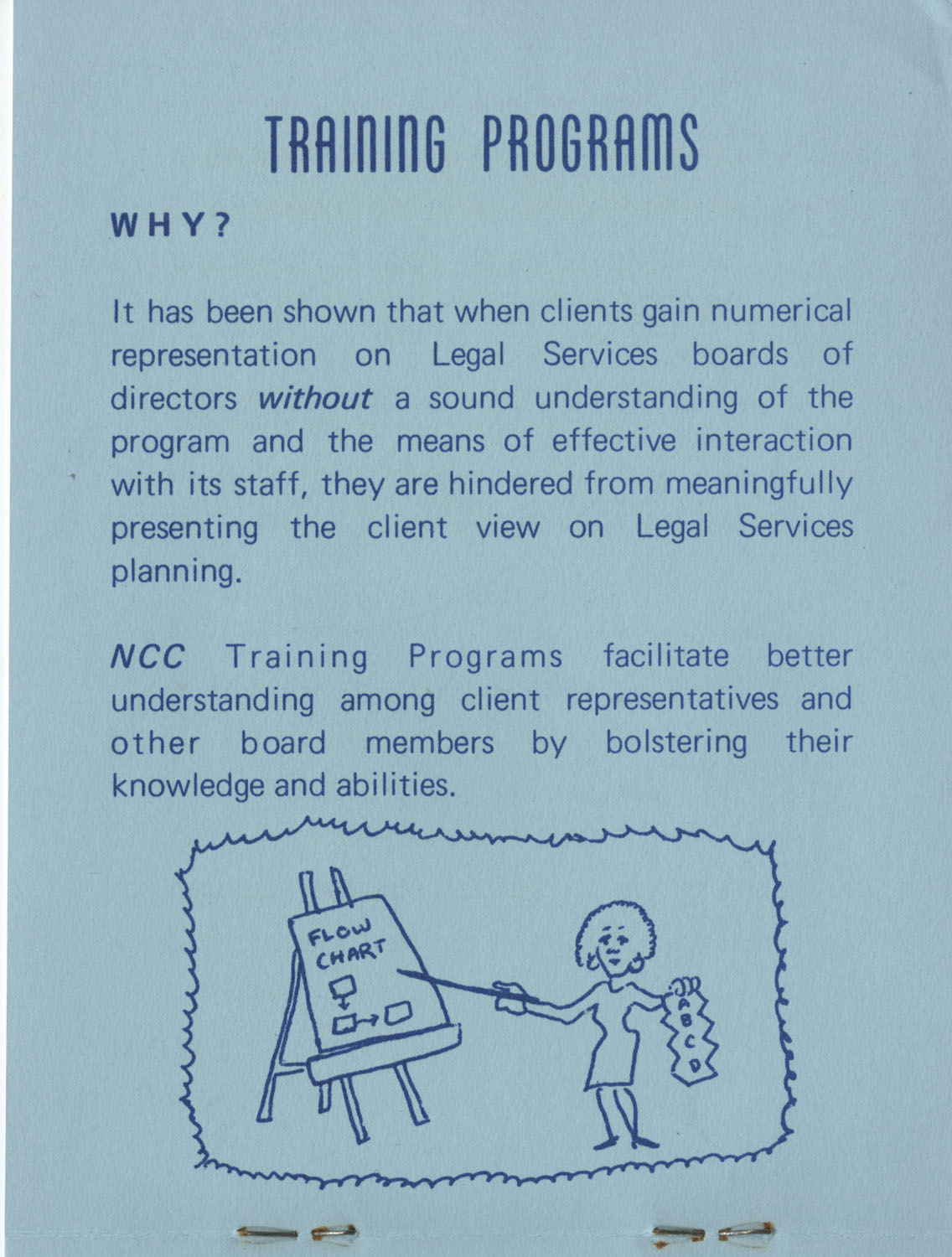 The Why's and How's of The National Clients Council, 1974, Page 5