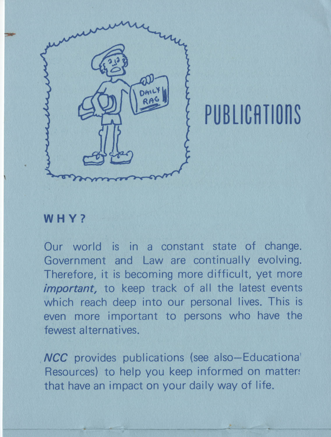 The Why's and How's of The National Clients Council, 1974, Page 7
