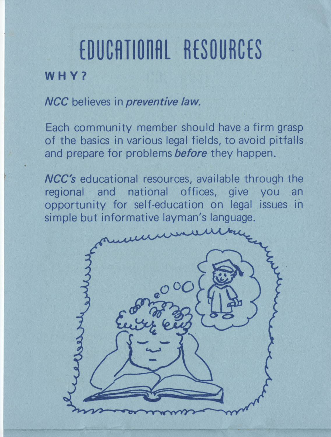 The Why's and How's of The National Clients Council, 1974, Page 9