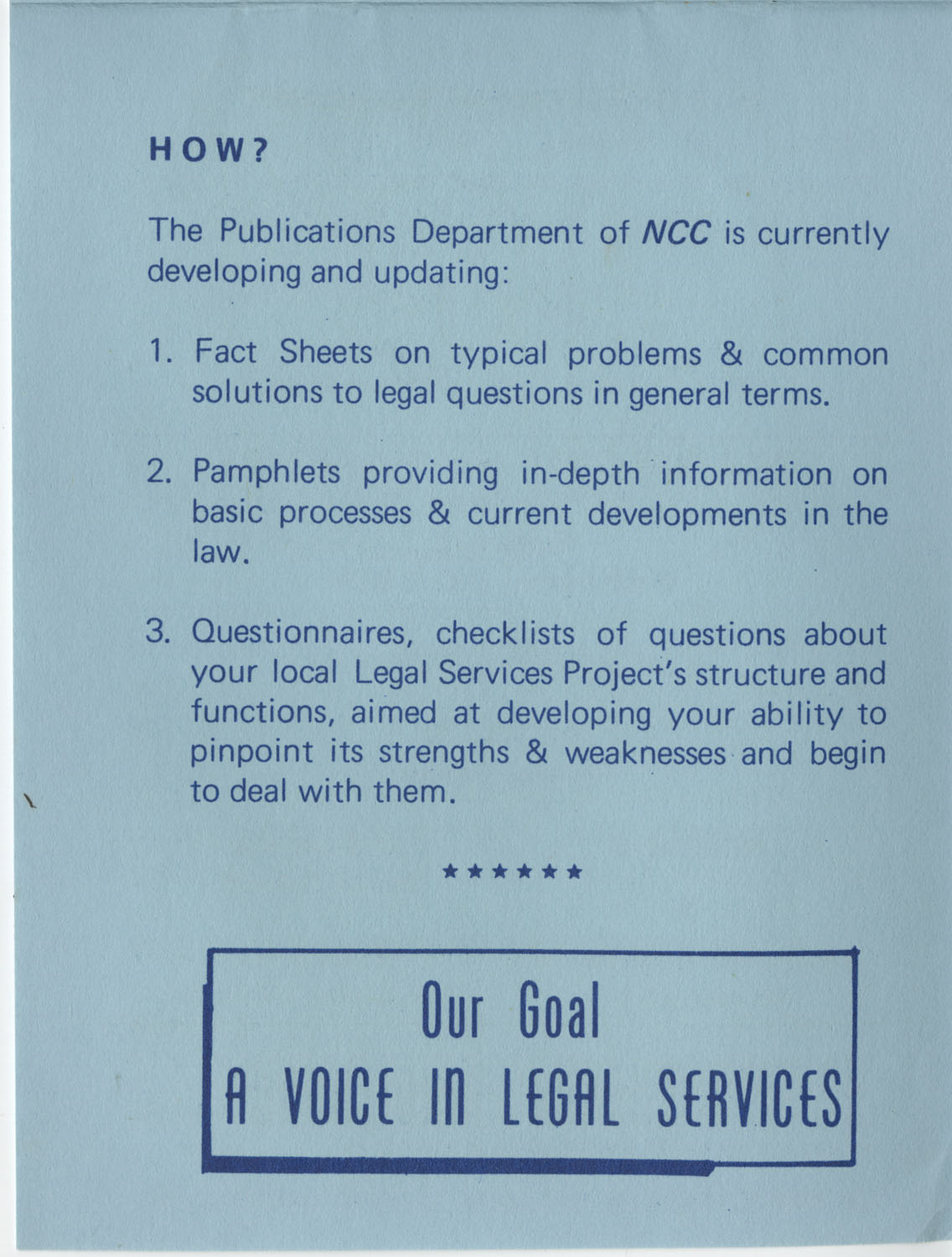 The Why's and How's of The National Clients Council, 1974, Page 10