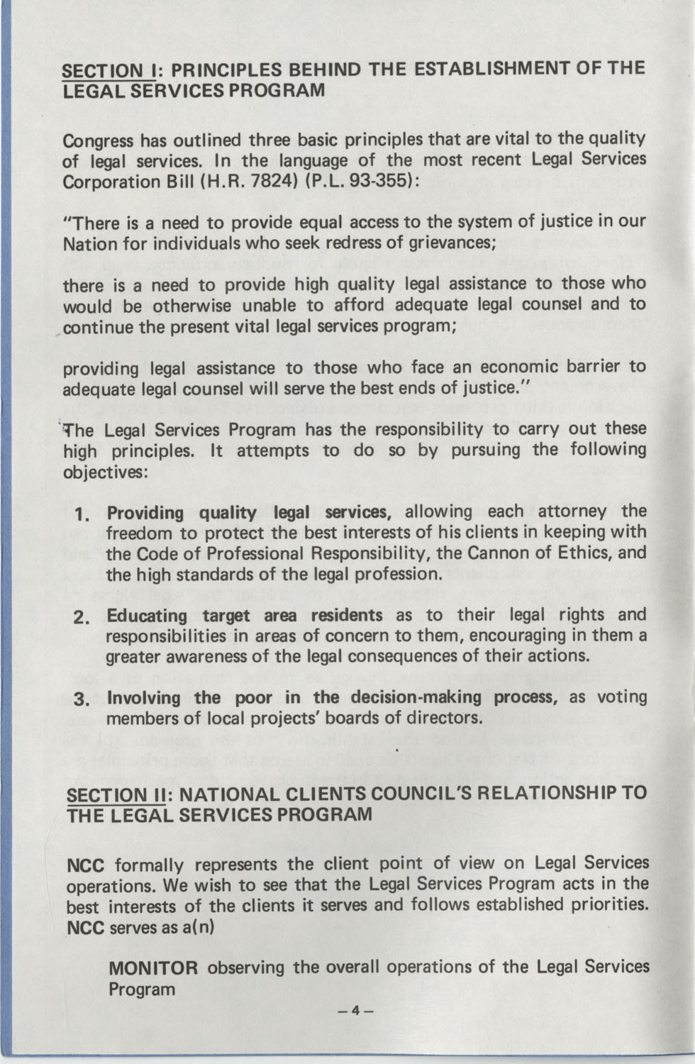 The Why's and How's of The National Clients Council, Page 4