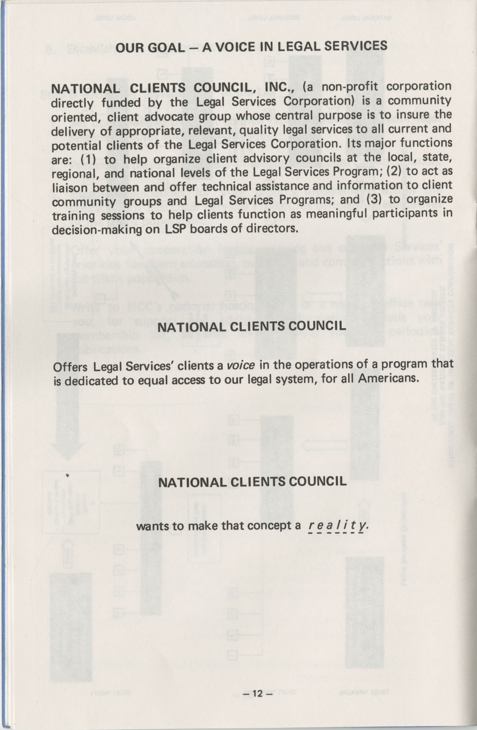 The Why's and How's of The National Clients Council, Page 12