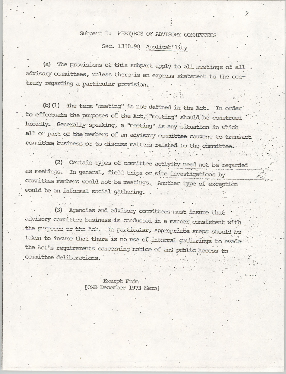 Memorandum from Lawrence B. Glick to Isaiah T. Creswell, August 7, 1975, Page 2