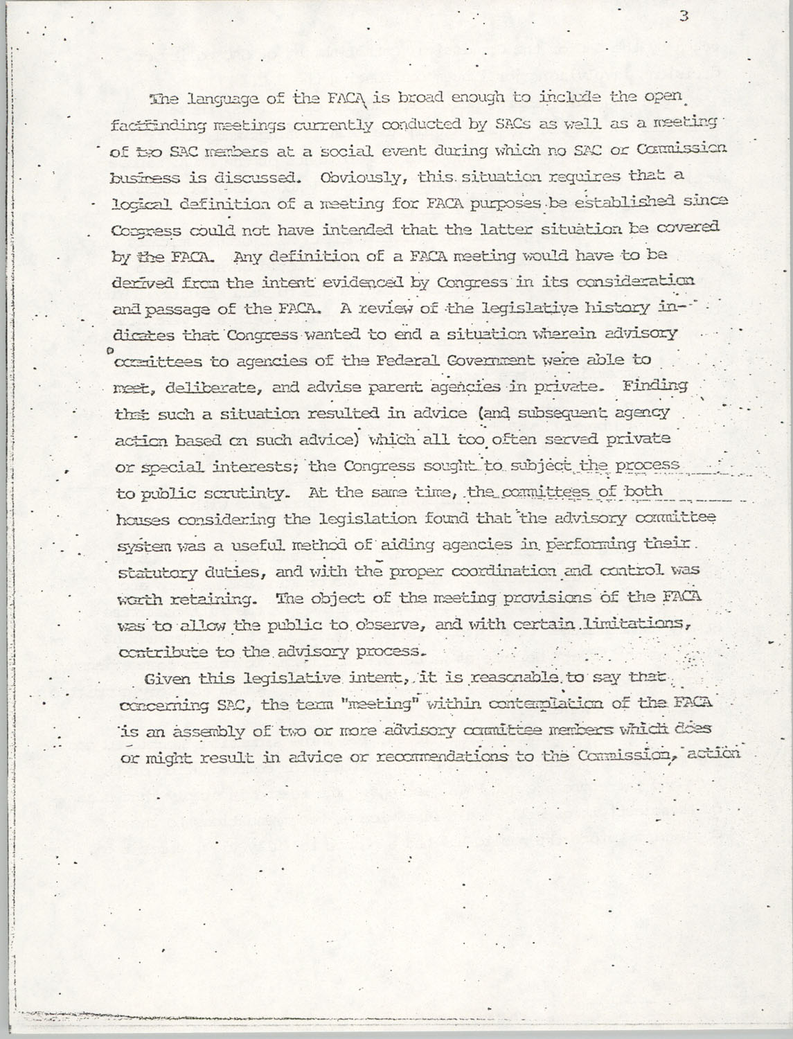 Memorandum from Lawrence B. Glick to Isaiah T. Creswell, August 7, 1975, Page 3