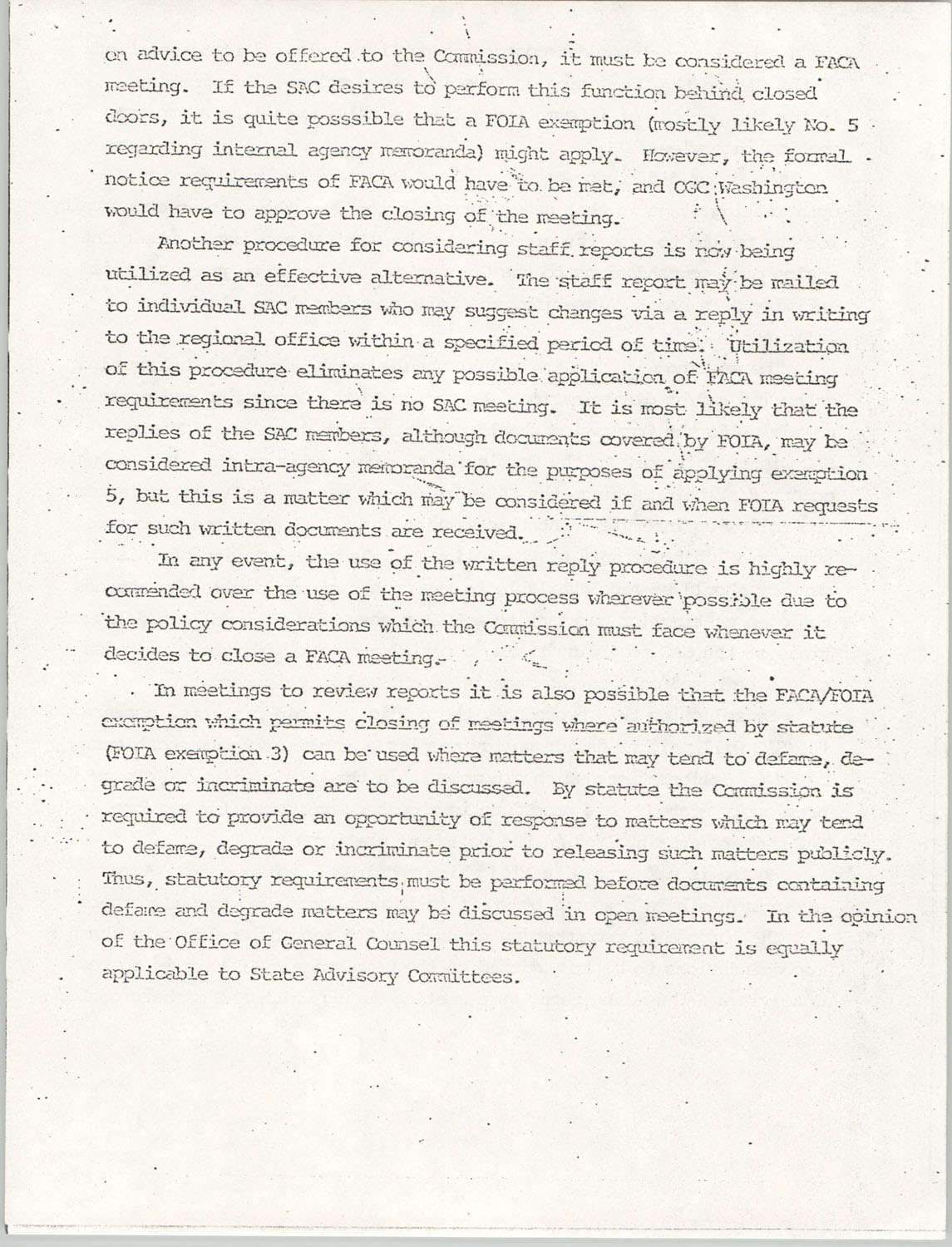 Memorandum from Lawrence B. Glick to Isaiah T. Creswell, August 7, 1975, Page 8