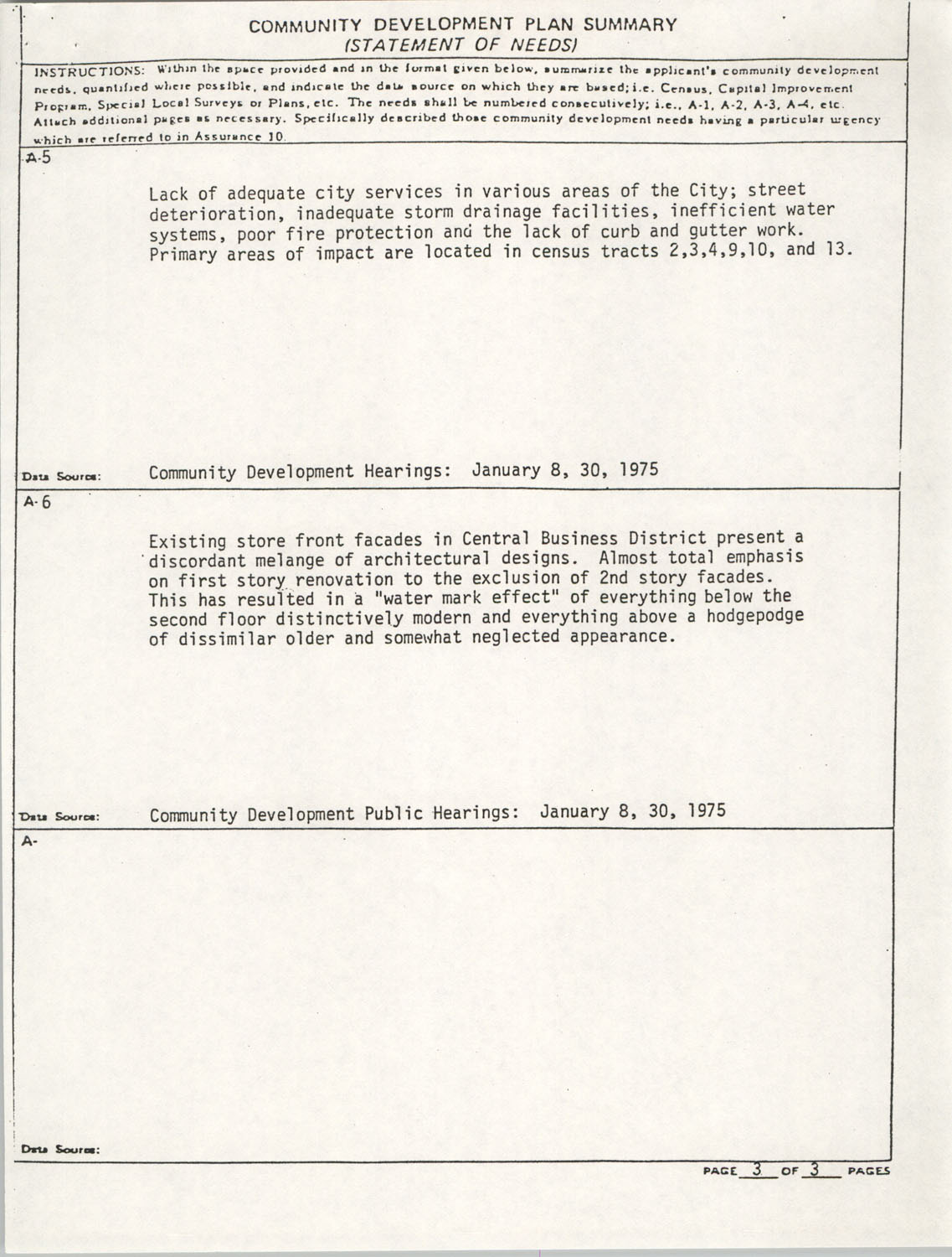 Community Development Act Columbia, South Carolina Materials, South Carolina,  Page 4