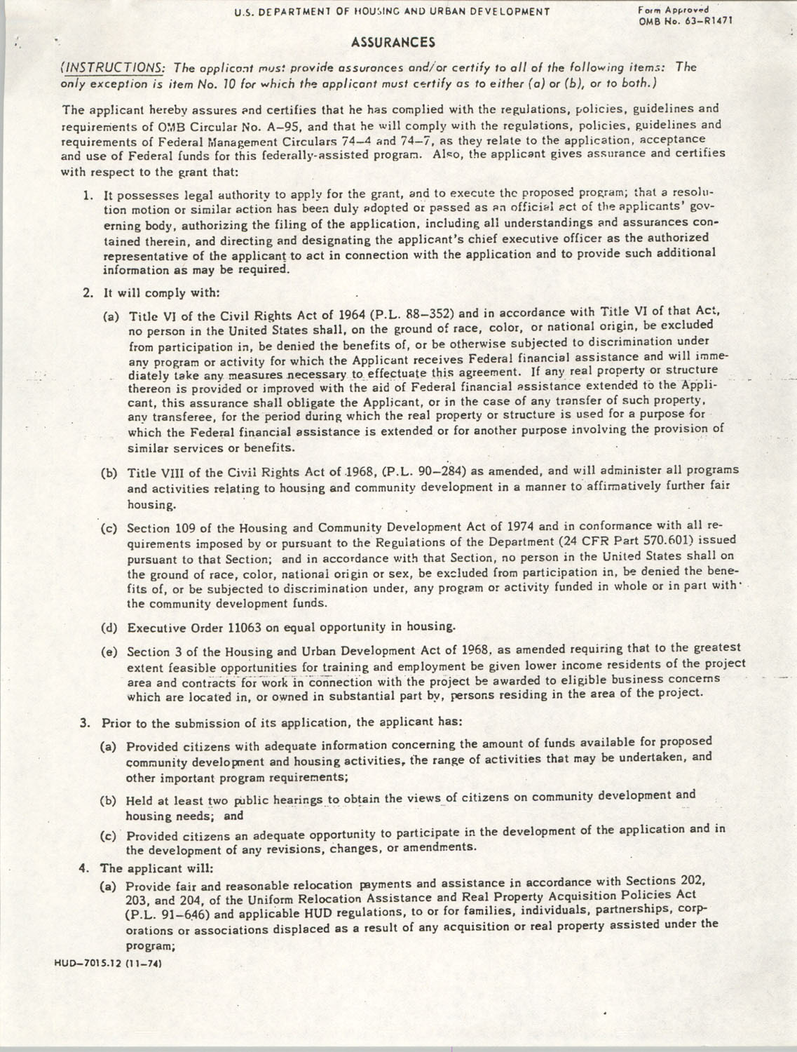 Community Development Act Columbia, South Carolina Materials, South Carolina,  Page 27