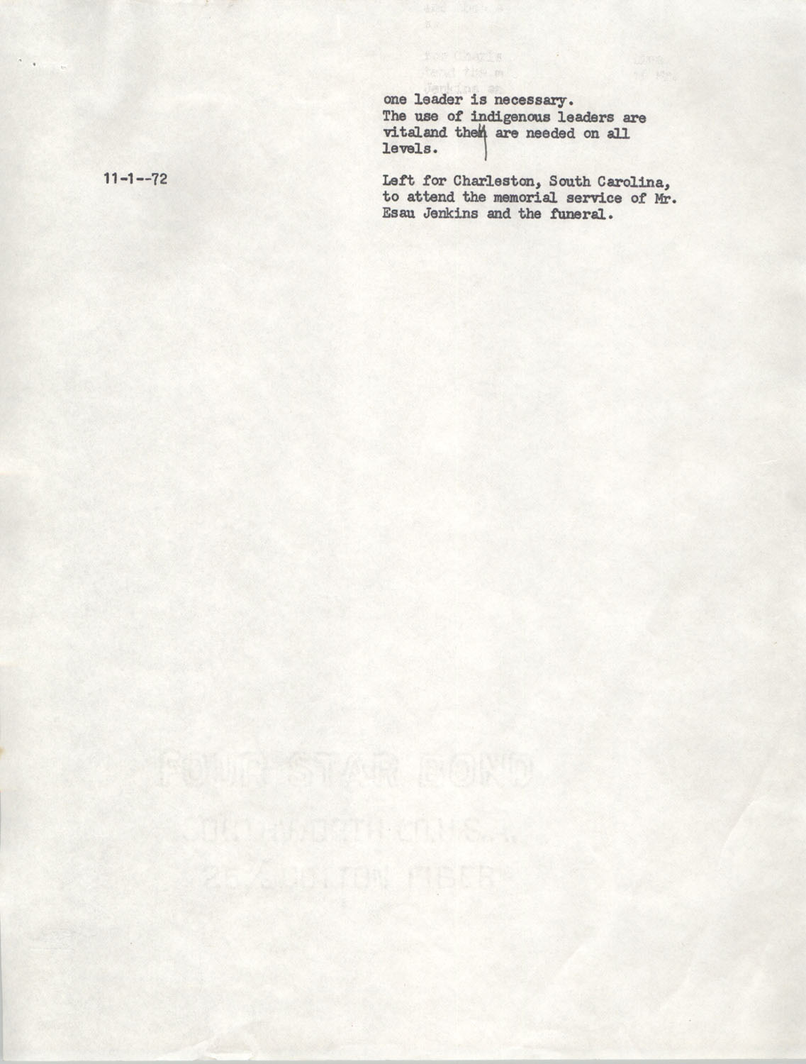 Schedule for Sojourn in Santa Cruz, College Seven, October 8 to November 1, 1972, Page 7