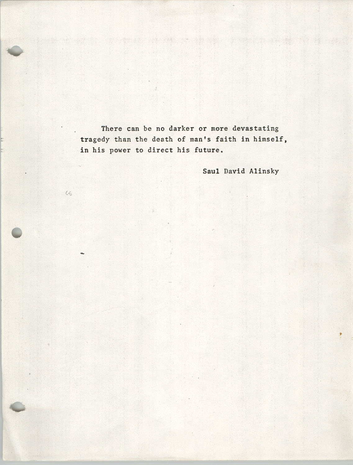 Citizen Participation. Democracy and Social Change, December 1, 1969, Epigraph Page
