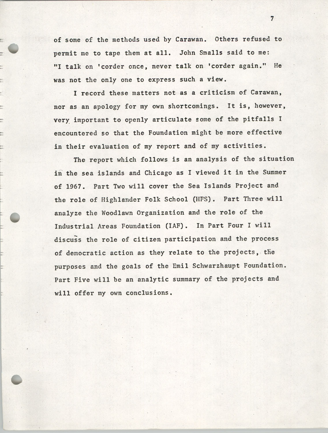 Citizen Participation. Democracy and Social Change, December 1, 1969, Page 7