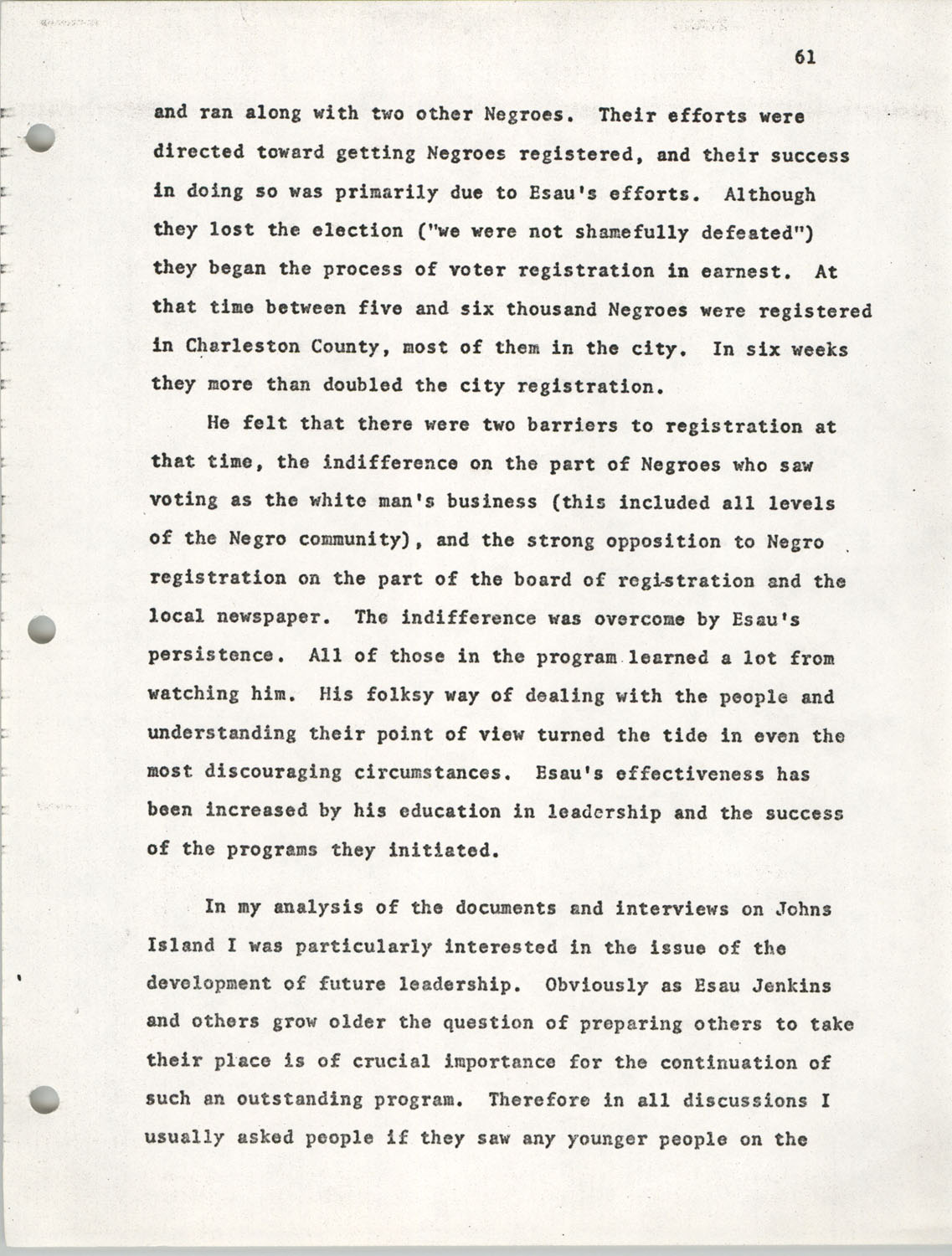 Citizen Participation. Democracy and Social Change, December 1, 1969, Page 61