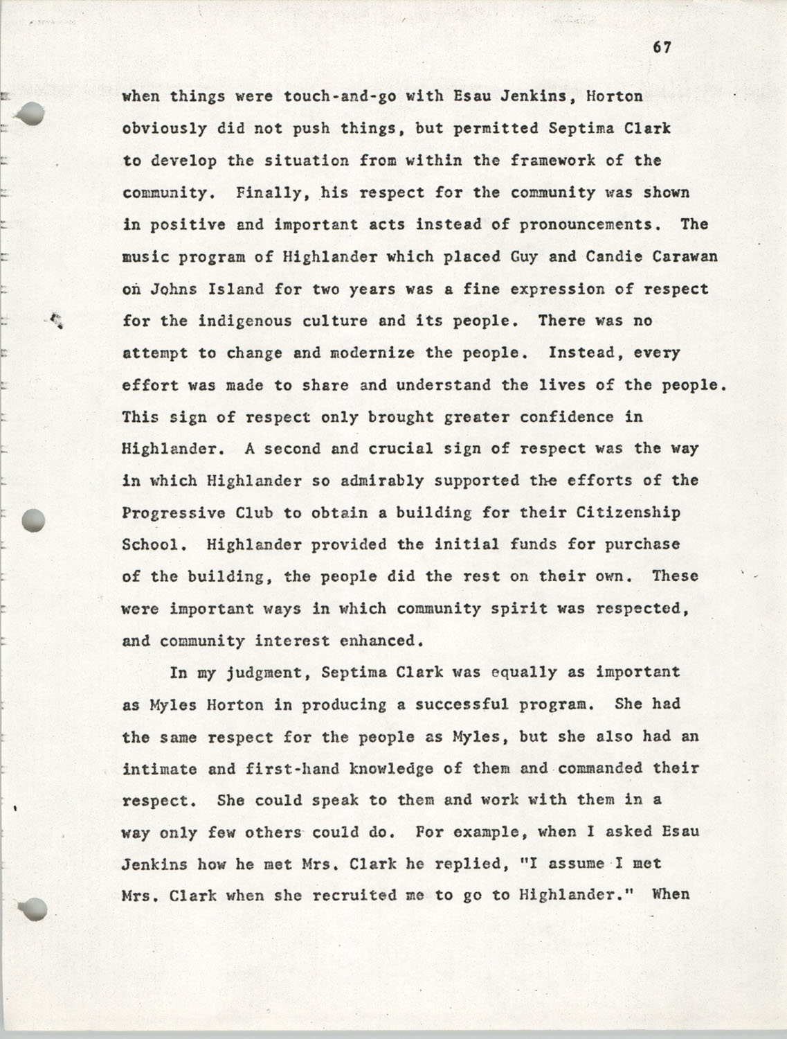 Citizen Participation. Democracy and Social Change, December 1, 1969, Page 67