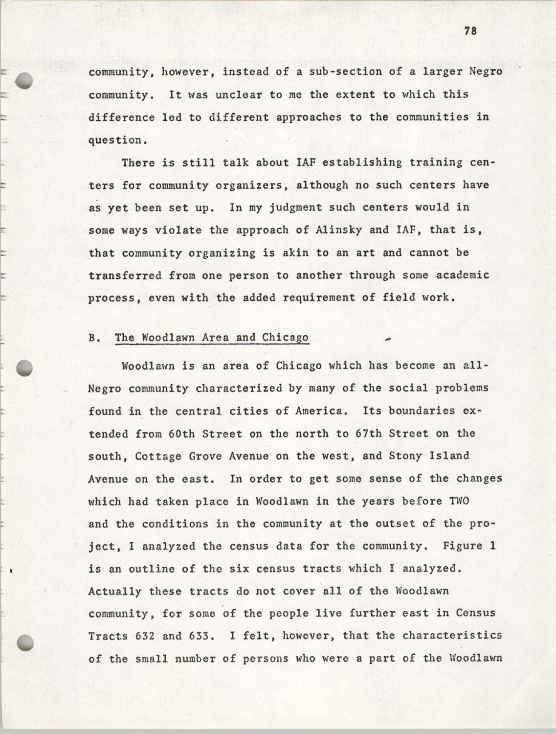 Citizen Participation. Democracy and Social Change, December 1, 1969, Page 78