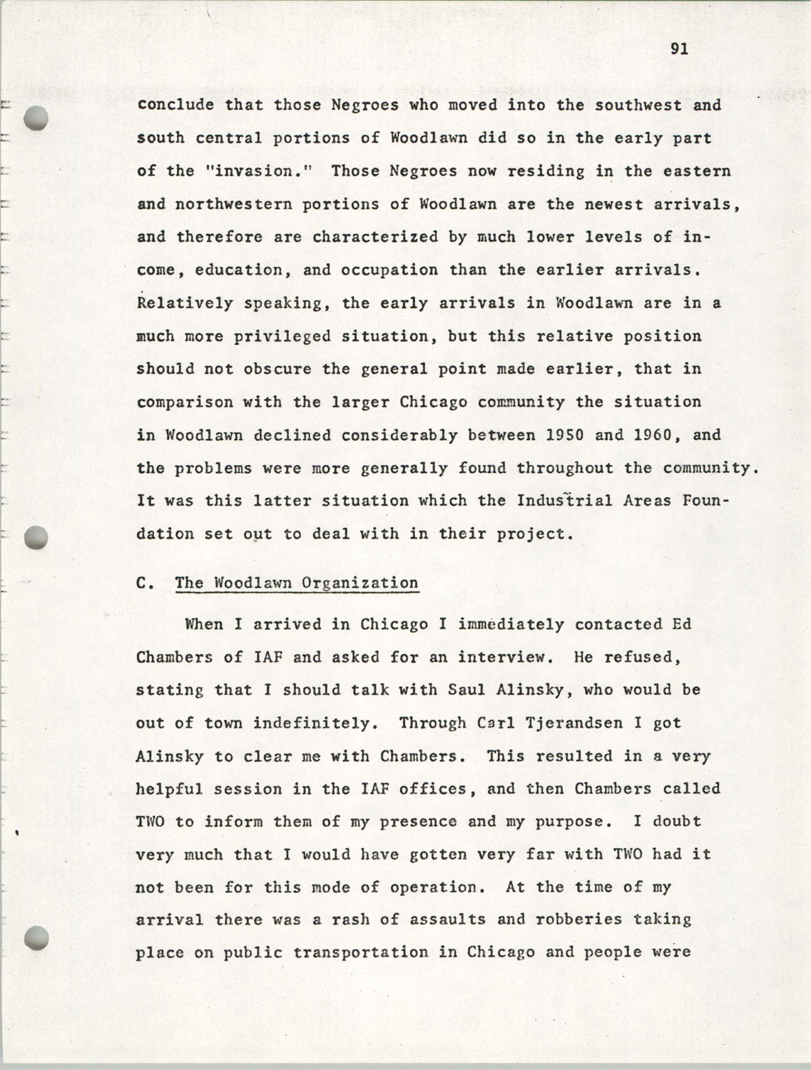 Citizen Participation. Democracy and Social Change, December 1, 1969, Page 91