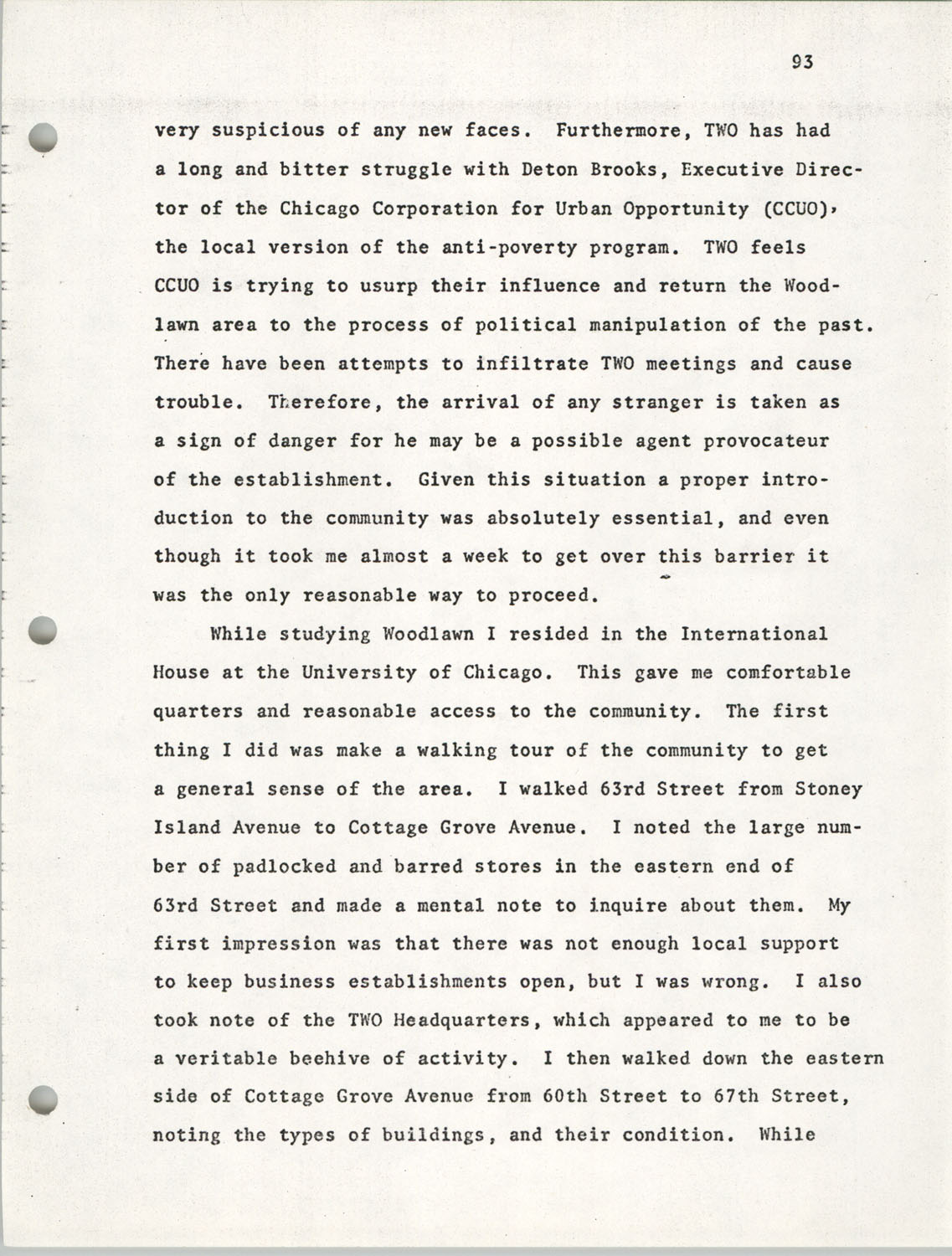 Citizen Participation. Democracy and Social Change, December 1, 1969, Page 93