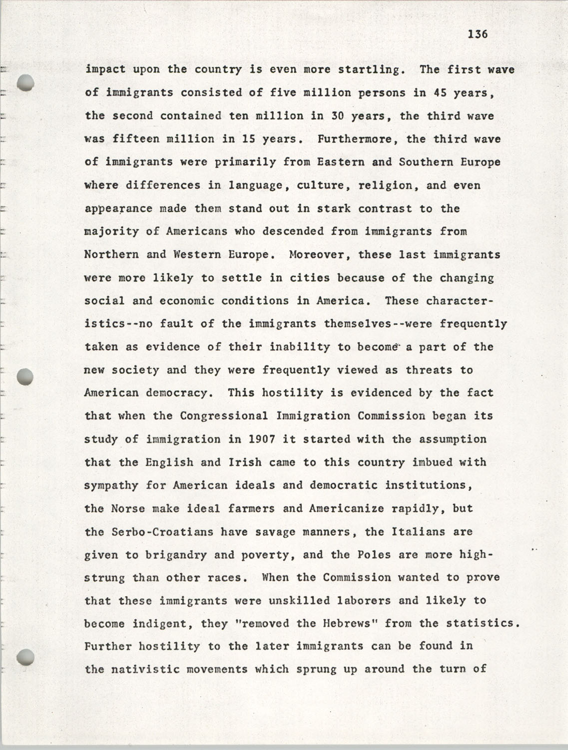 Citizen Participation. Democracy and Social Change, December 1, 1969, Page 136