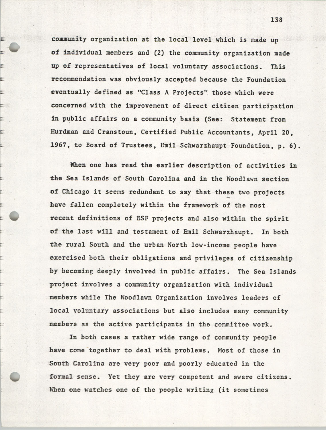 Citizen Participation. Democracy and Social Change, December 1, 1969, Page 138