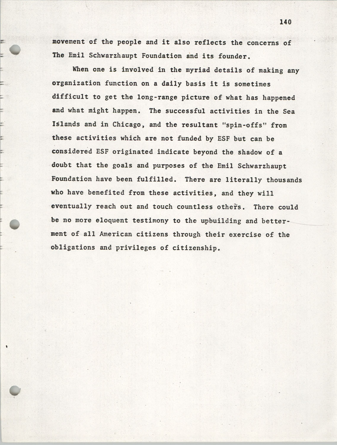 Citizen Participation. Democracy and Social Change, December 1, 1969, Page 140